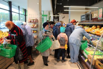 Открытие обновленного магазина  «Челны-хлеб» №33. ФОТО