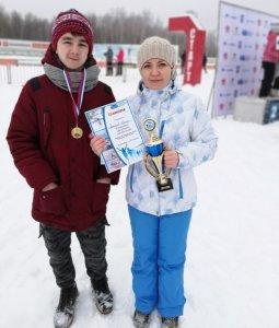 """ГК """"Барс"""" завоевала золотую медаль в биатлоне. ФОТО"""