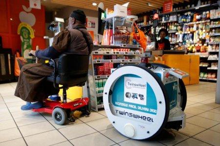 В Париже роботы займутся доставкой покупок из Franprix. ФОТО