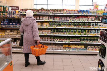 «Хороший выбор»: Большинство продуктов в местные магазины поступает с предприятий Томска и Сибири. ФОТО